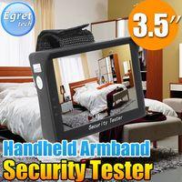 3.5quot; TFT LCD Audio seguridad Video Tester CCTV cámara Cam prueba Monitor Portable
