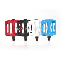 Wholesale 2014NEW ROCKBROS Bike Bicycle Multicolour Pedals MTB BMX DH Aluminium Pedals Cycling Pedals Steel Spindle