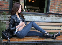 Wholesale In the autumn of type of cultivate one s morality show thin Stretch comfortable breathable pair of jeans