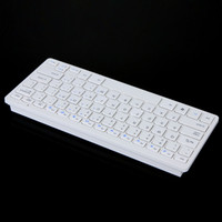 Wholesale 2 GHz Wireless Keyboard Mouse Combo White for Desktop Computer Accessories DHL free LY