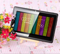 Wholesale Allwinner Q88 inch Allwinner A23 Dual Core Q88 Android Tablet PC MB DDR3 GB ROM Dual Camera Wifi Multi language tablet