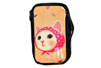20.5cm*12cm*5.5cm make up bag - Lovely Cat Cosmetic Case Make Up Bag In Fashion Design Pictures