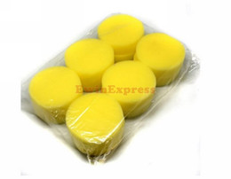 Wholesale Sponge Applicator Wholesale - Hot New Car Care & Cleaning 60X Car Foam Waxing Polishing Washing Sponge Pad Applicator Free shipping