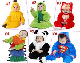 Wholesale 6styles Newborn Baby sleeping bag caterpillar pea Banana Fox Fanda pumpkin sleeping bags EMS