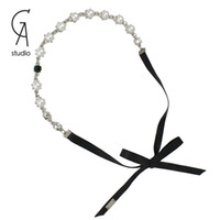 Headbands White Bohemian 2014 Hot Sale New Fashion Pearl Headbands hair band For Women Hair Accessories trendy Jewelry Gift Party