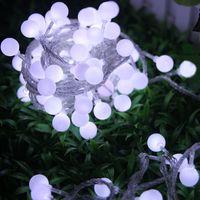 Wholesale 100 LED Bulb light m ft LED String Lights Flashlight Christmas ornament Shop window decoration item light strings Strip