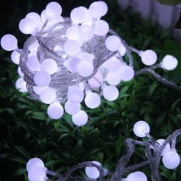 100 LED Bulb light 10m 32.81ft LED String Lights,Flashlight Christmas ornament,Shop window decoration item,light strings Strip Free Shipping