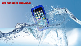 Wholesale Top Quality Waterproof Case Water Shock Dirt Proof Case Cover Swimming Case For iphone S S with retail package