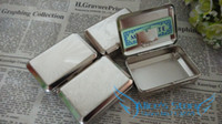 Wholesale Silver Tobacco Box Humidor Storage mm Rolling Paper Container Many Designs