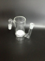 Glass ac mm - 14 MM Joint ash catcher with fritted disc for glass bong glass smoking pipe AC