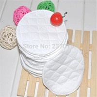Wholesale 20Pcs Feeding Washable Reusable Breast Nursing Pads Soft Absorbent Breastfeeding