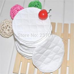 Wholesale 20Pcs Feeding Washable Reusable Breast Nursing Pads Soft Absorbent Breastfeeding