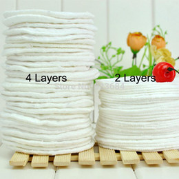 Wholesale 12pcs Layers Thick Breast Pads Washable and Reusable Breathable Cotton Maternity Nursing Breast Pads RD
