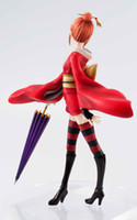 Finished Goods scale model figures - Silver Soul kagura Scale PVC Action Figure Model Collection Toy