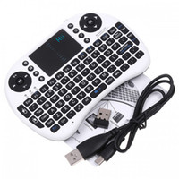 Wholesale 2 G Rii Mini i8 Wireless Keyboard with Touchpad for PC Pad Google Andriod TV Box Xbox360 PS3 HTPC IPTV LY