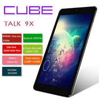 Wholesale Cube Talk X U65GT MTK8392 Octa Core GHz Tablet PC inch G Phone Call x1536 IPS MP Camera GB GB Android