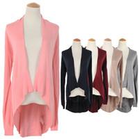 Women Cashmere V-neck Dovetail Knitted Cardigan Sweater Coat 2014 Autumn ZX745 atacado roupas femininas Clothing Sweaters