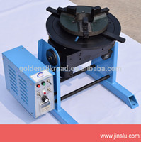 Wholesale 50 KG welding positioner welding table turn table with manual welding chucks