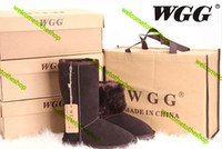 Wholesale high WGG5815 classic styles for men and women snow boots warm in autumn and winter fashion style card dus