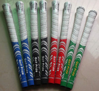 Wholesale 2014 Top Quality Golf Mid Size Pride Grips Golf Wood Set And Golf Irons Grips MIDSIZE Pride Grips Clubs Colors DHL Shipping