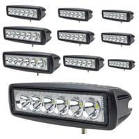 Wholesale 18W LED Working Light Lamp Car Fog Light For Jeep SUV ATV Off road Truck Vehicles Night Lighting Use K IP67 Waterproof