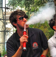 Wholesale Stock delivery electronic rechargeable fantasia e hookah starbuzz in red blue purple black