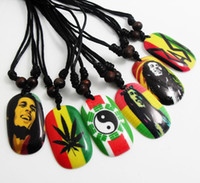 mens jewelry lot - NEW Bob Marley Pendant Necklace Hip top Styles necklace Mens Fashion Jewelry