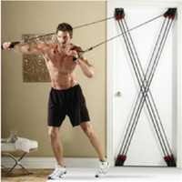 Resistance Bands fitness equipment - HOT Training rope belt exercise equipment rope totipotent chest door fitness DHL TOP quality