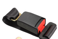 Wholesale 5 Black Car Vehicle Seat Belt Extension Extender Strap Safety Buckle