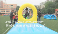 Wholesale Fun Games business equipment items inflatable fish big splash washed off Super steeplechase jump Dragon