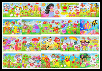 Wholesale cm Kid DIY handmade self adhesive Cartoon Animal eva foam sticker D eva puzzles toy Educational Toy for Children