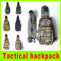 Unisex table chest - High quality Tactical Molle Utility Gear Shoulder Sling Bag camouflage Chest bag camping outdoor gear Chest bag gift A256L