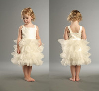 Cheap Reference Images Girls Pageant Dress Best Girl Applique Flower Girl Dresses 2014