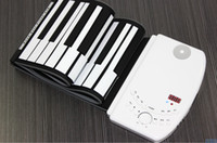 Wholesale Fashion and Hot selling Portable multifunctional Keys Electronic Digital Roll Up Roll Up MIDI Soft Piano Keyboard