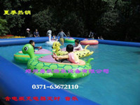 Beach Toys inflatable electric bumper boat - Children selling bumper boats inflatable cartoon turtle boat battery waterpark rides electric boat washed off parenting