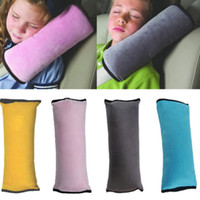 Wholesale Kid Children Car Bed Safety Seat Belt Cushion Pillow Harness Pad Sleep Cover DH04