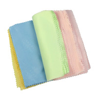 Wholesale New Microfiber Lens Glasses Cleaning Cloths Wipe For Camera Lens Eyeglass Free Sipping