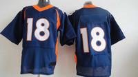 Wholesale Peyton Manning Elite Jerseys New Style Football Jerseys Brand Football Wears Well Embroidery USA Team Jerseys New Collection