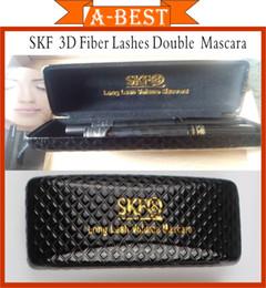 Wholesale 2014 SKF SETS D FIBER LASHES MASCARA Set Makeup lash eyelash waterproof double mascara