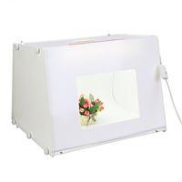 Wholesale by DHL SANOTO Portable Mini Photo Studio Photography Light Box Photo Box MK50 For Network EBAY seller V