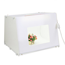Free Shipping by DHL SANOTO Portable Mini Photo Studio Photography Light Box Photo Box MK50 For 220V 110V