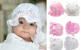 Wholesale Summer Cute Kid Baby Toddler Girl Bok not Hat Sun Cap