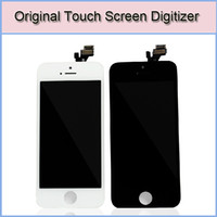 For Apple iPhone 4 4S 5 5S 5C Touch Screen  Original LCD Display & Touch Screen Digitizer Full Assembly for iPhone 4 4G CDMA 4S iPhone 5 5S 5C Replacement Repair Parts