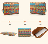 Wholesale Free UPS Bohemia Laptop Sleeve Cases Tablet Computer Bag Smart Cover For Notebook Ipad MacBook Inch Factory Price