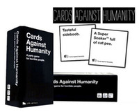 Wholesale Card Games Cards Against Humanity A Party Game for Horrible People Party Base Set Cards Basic Edition Funny Game China