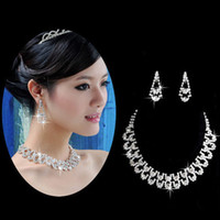 Cheap Jewelry Sets bridal Jewelry Set Best Alloy Crystal Wedding Bridal Jewelry