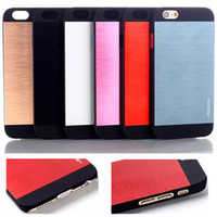 For Apple iPhone gold dust - MOTOMO Brushed Metal Aluminium Alloy Hard PC Case For iPhone Inch iPhone6 Cell Phone Cover Slim Protector Dust Proof Back Shell DHL