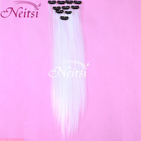 Wholesale Big Promotion quot pack Colors Clip On In Hair Extensions Remy Brzailian Hair Weaves colorful Ombre Human hair curly extensions