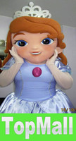 Mascot Costumes Animal Christmas JJ1131 Sofia the First Mascot Costume Adult Costume