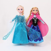 barbi doll - 12 quot Frozen Barbi Princess Queen Elsa Anna Set Playset Dolls Toys Collection DH04
